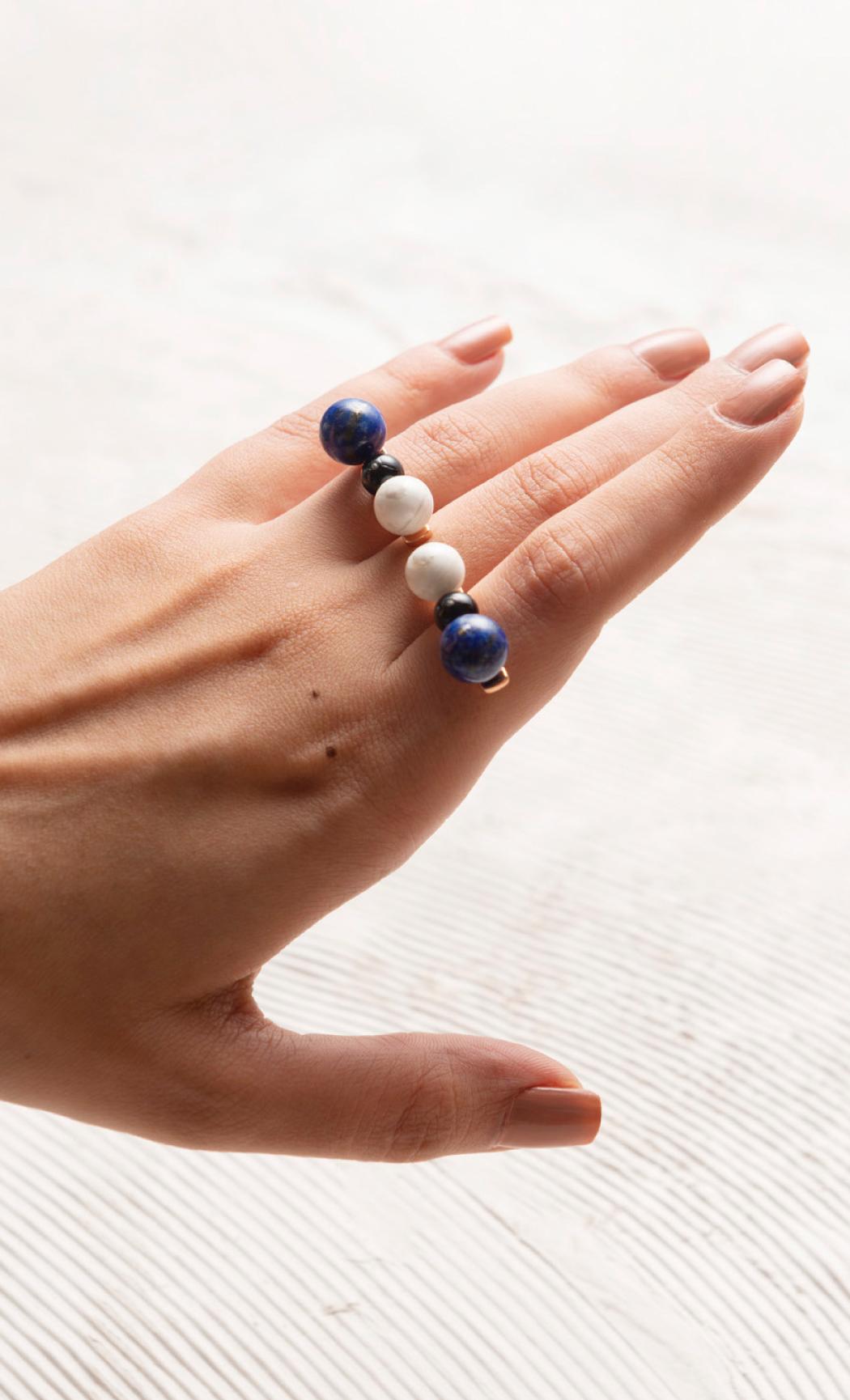 Three-finger Ball Ring - Buy Now.